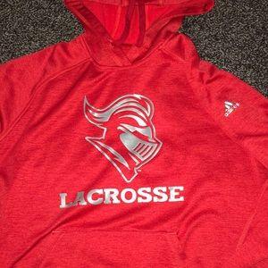 Adidas Rutgers Lacrosse Hoodie